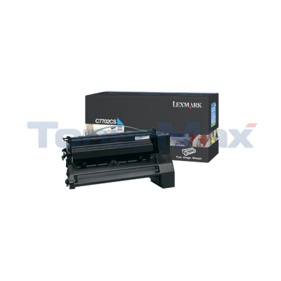 LEXMARK C770 PRINT CART CYAN 6K
